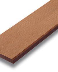 ไม้รั้ว เอสซีจี รุ่นลายไม้ ขนาด 10x400x1.6 ซม. สีรองพื้น