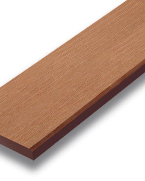 ไม้รั้ว เอสซีจี รุ่นลายไม้ ขนาด 7.5X400X1.6 ซม. สีรองพื้น