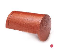 ครอบโค้งปิดจั่ว คอนกรีต เอสซีจี สีแดงกุหลาบ