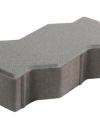 บล็อกปูพื้น เอสซีจี รุ่นคดกริช สีเทา ขนาด 11.25 x22.5 x 6 ซม.