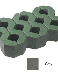 บล็อกปูพื้น เอสซีจี รุ่น บล็อกสนามหญ้า สีเทา (ไม่มีผิวหน้า) 40 x 25 x 8 ซม.