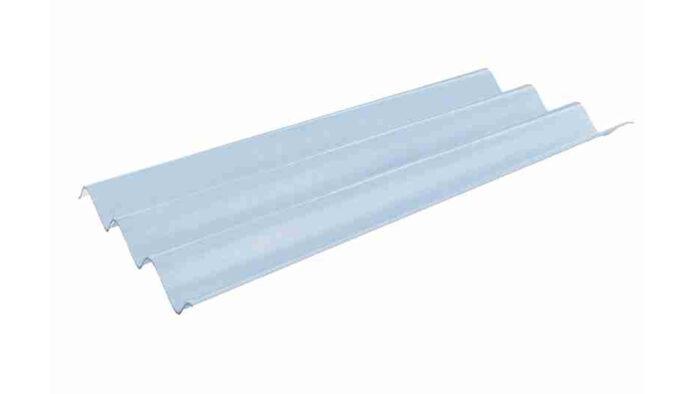 แผ่นโปร่งแสง เอสซีจี ลอนคู่ สีขาวมุก 50x150x0.12 ซม.