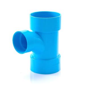 ข้อต่อ PVC สามทางทีวาย 90 สีฟ้า ตราช้าง SCG