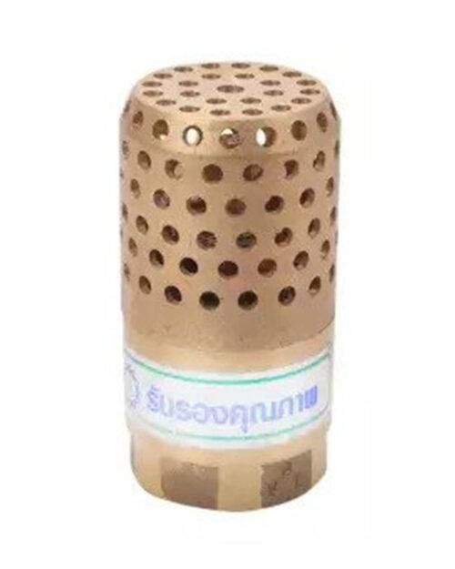 ฟุตวาล์ว BVL รังผึ้ง ทองเหลือง ขนาด 3/4 นิ้ว