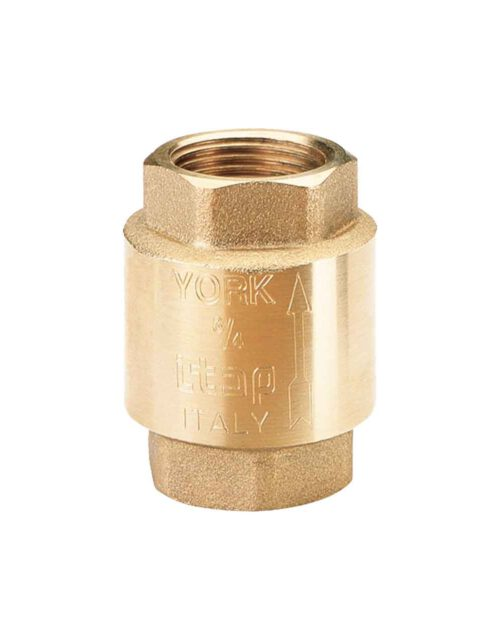 เช็ควาล์ว ทองเหลือง YORK ขนาด 3/4 นิ้ว