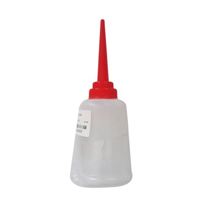 ขวดกาบีบน้ำมัน พลาสติก ฝาแดง ขนาด 160 มล.