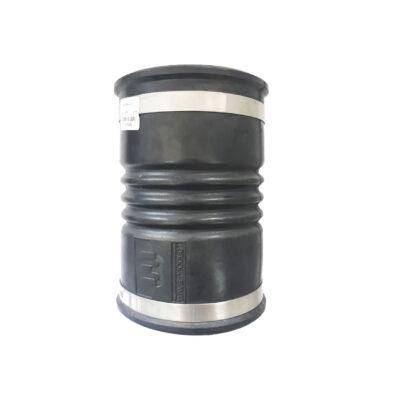 ท่อเฟล็กซ์ยาง สีดำ ขนาด 4 นิ้ว