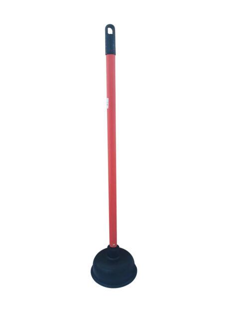 ยางปั้มส้วมจัมโบ้ ด้ามสีแดง