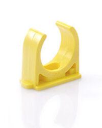 กิ๊ปก้ามปู ขนาด 3/4 (20) สีเหลือง