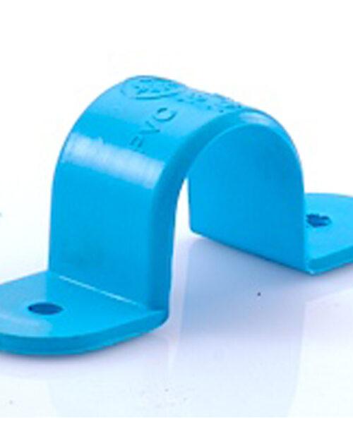 กิ๊ปจับท่อ PVC SCG ขนาด 2 นิ้ว สีฟ้า