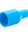 ข้อต่อตรงลด หนา ฟ้า SCG ขนาด 25×20 มม. 1×3/4 นิ้ว สีฟ้า