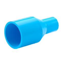ข้อต่อตรงลด หนา ฟ้า SCG ขนาด 1 1/2 x 1 นิ้ว สีฟ้า