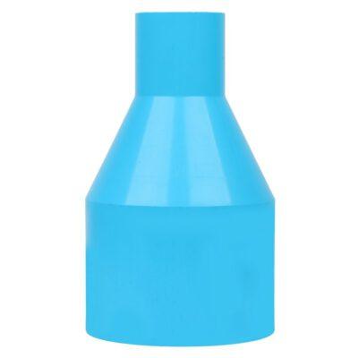 ข้อต่อตรงลด-หนา SCG ขนาด 4×2 นิ้่ว สีฟ้า