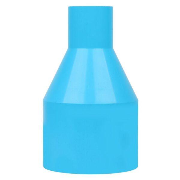 ข้อต่อตรงลด-หนา SCG ขนาด 2 1/2 นิ้ว x 1 นิ้ว สีฟ้า