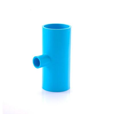 ข้อต่อ สามทางลด SCG ขนาด 2×1 1/2 นิ้ว สีฟ้า