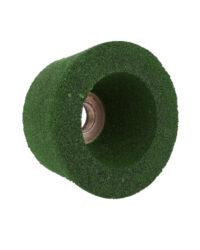 หินถ้วยขัดพื้นตราเสือ2.1/2 นิ้ว120 มม. สีเขียว