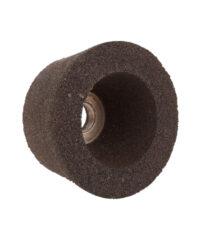 หินถ้วยขัดพื้นตราเสือ21/2นิ้ว 60 มม. สีเทา