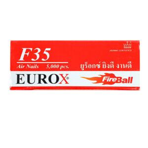 ลูกแม็กปืนลม ลวดยิงไม้ Eurox F35