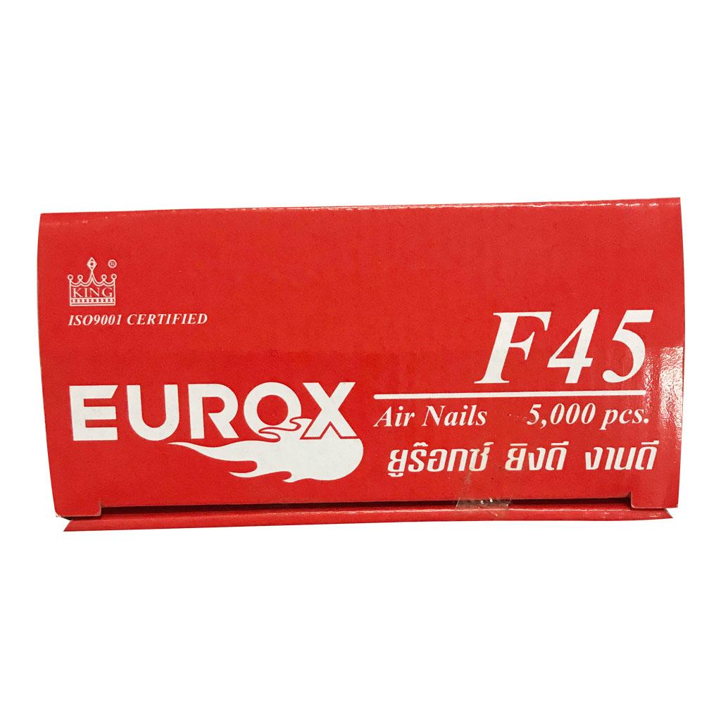 ลูกแม็กปืนลม ลวดยิงไม้ Eurox F45