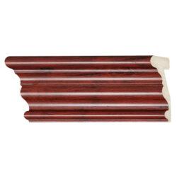 ไม้บัวอเนกประสงค์ YES MOULDING BA003-03 สีไม้แดง ยาว 3 เมตร
