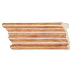 ไม้บัวอเนกประสงค์ YES MOULDING BA003-04 สีไม้สักอ่อน ยาว 3 เมตร