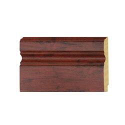 ไม้บัวล่าง YES MOULDING รุ่น BL002-03 สีไม้แดง ยาว 3 เมตร