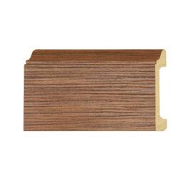 ไม้บัวล่าง YES MOULDING รุ่น BL004-05 สีไม้สักอ่อน ยาว 3 เมตร