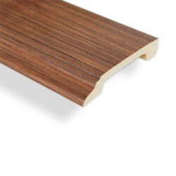 ไม้บัวล่าง YES MOULDING รุ่น BL004-04 สีไม้สักอ่อน ยาว 3 เมตร