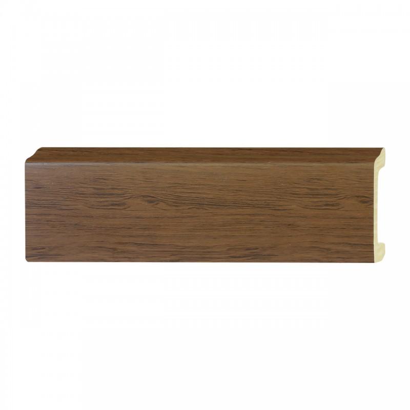 ไม้บัวอเนกประสงค์ YES MOULDING PL005-14 สีไม้สักลายดำ ยาว 3 เมตร