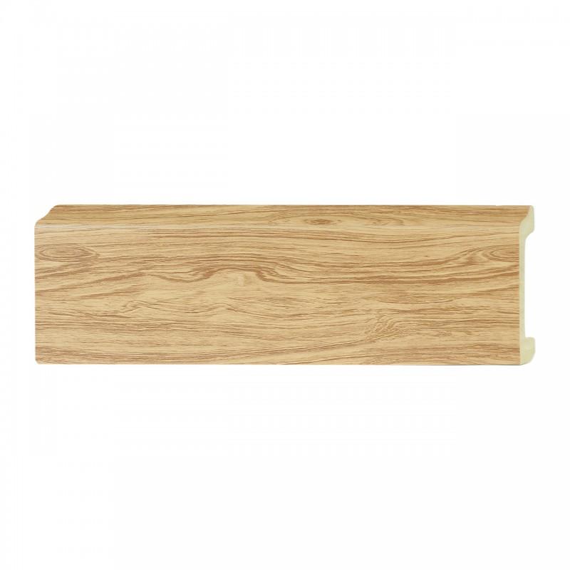 ไม้บัว อเนกประสงค์ YES MOULDING PL005-14 สีไม้สักลายดำ ยาว 3 เมตร
