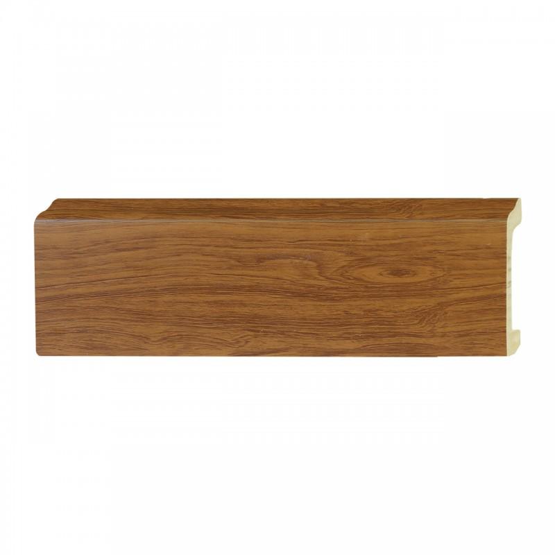 ไม้บัวอเนกประสงค์ YES MOULDING PL005-120 สีไม้สักทอง ยาว 3 เมตร