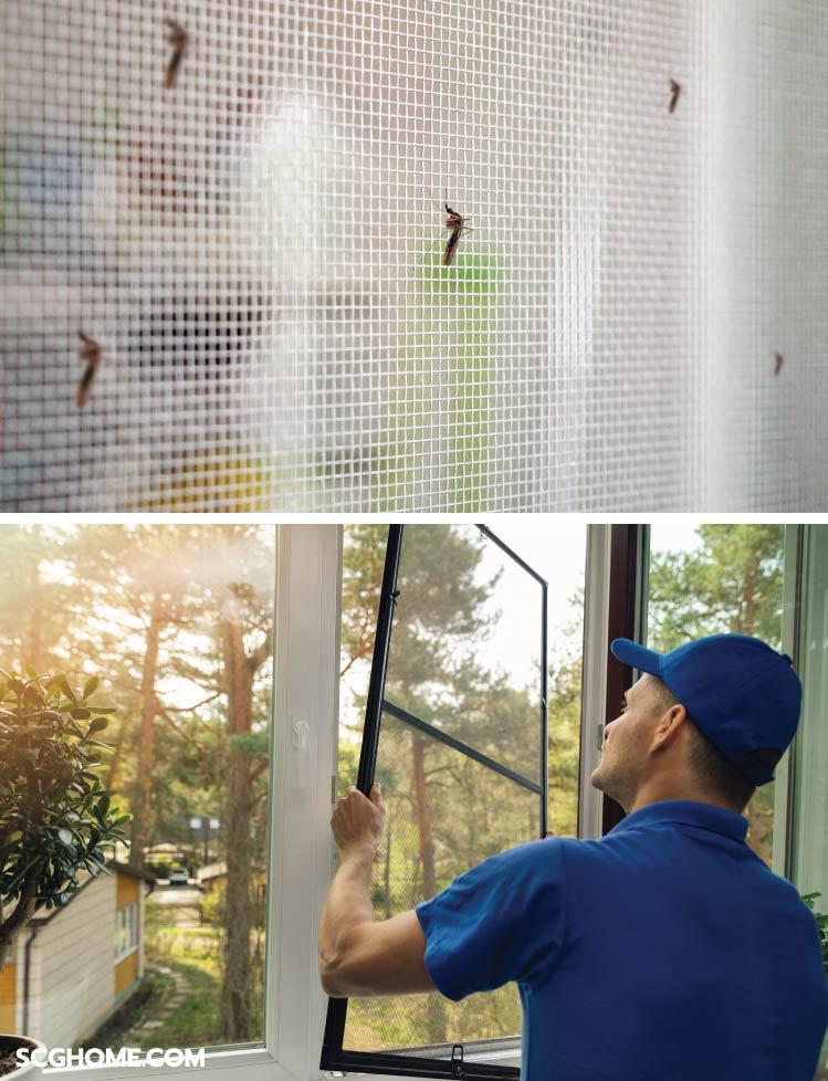 ภาพ: ประโยชน์หลักของมุ้งลวดคือ ช่วยป้องกันแมลง-สัตว์พาหะ และช่วยกันเศษฝุ่นละออง อีกทั้งช่วยลดความเข้มของแสงแดด โดยที่อากาศภายในยังคงหมุนเวียนถ่ายเทได้ดี