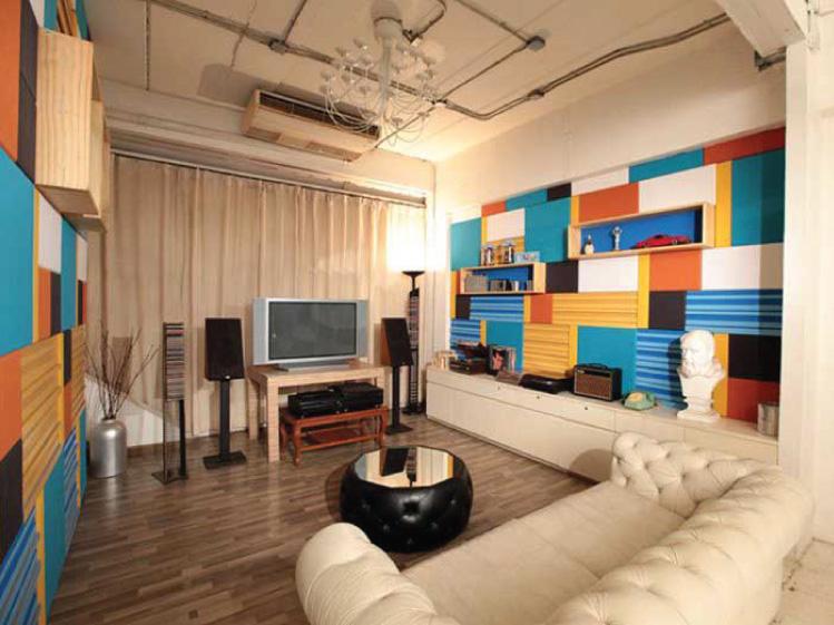 ภาพ: ห้องโฮมเธียเตอร์ ควรออกแบบให้มีค่าการกันเสียงและดูดซับเสียงที่เหมาะสม เพื่อการดูหนังฟังเพลงได้อย่างเต็มอรรถรส และไม่รบกวนเพื่อนบ้าน